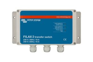 Victron Energy Filax 2 Transfer Switch CE 110V/50Hz-120V/60Hz- SDFI0000110