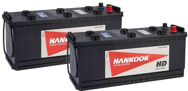 2x 62034 Vented Commercial Batteries 120Ah, Type 627
