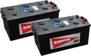 Hankook Vented 70027 Heavy Duty Commercial Battery, UK Part Code: 625
