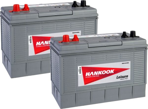 2x Hankook DC31 Leisure Battery