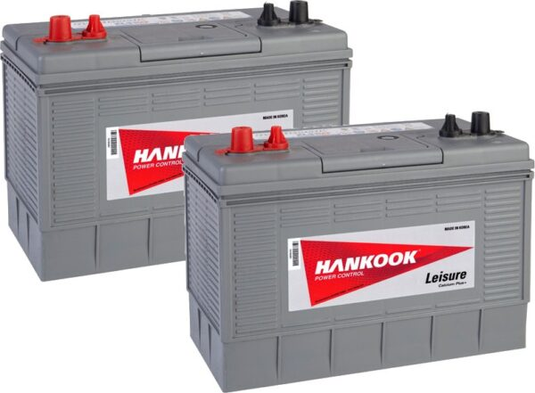 Hankook 130Ah Leisure Battery - XL31 x 2