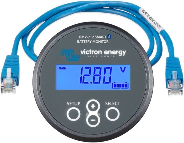 Victron Energy Battery Monitor BMV-712 Smart & RJ45 UTP Cable 3m