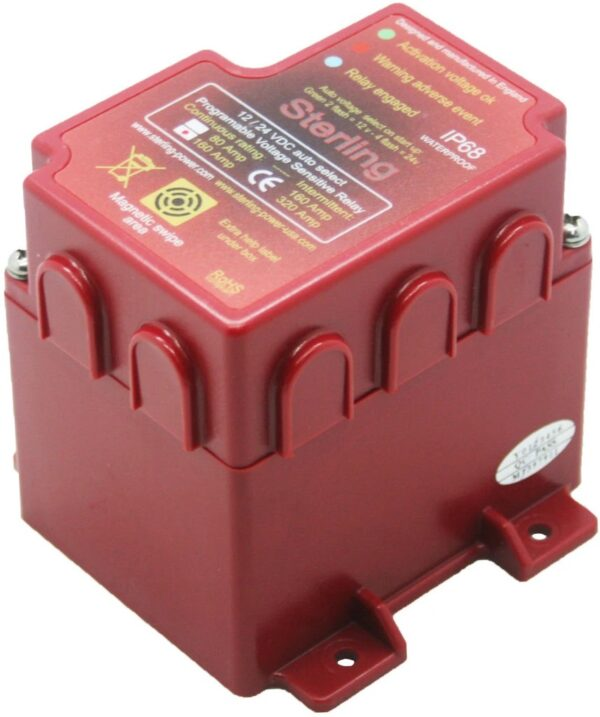 Voltage Sensitive Relay Digital 80A