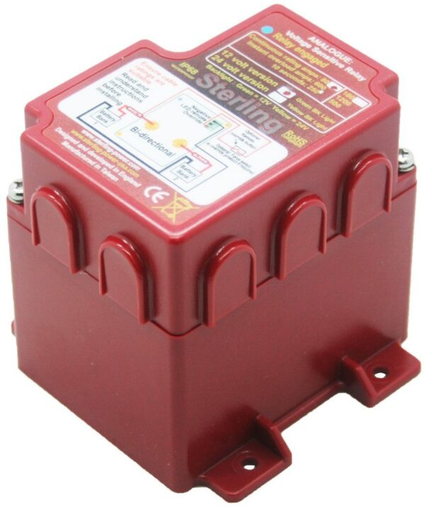 Sterling Power VSRA8012 Voltage Sensitive Relay