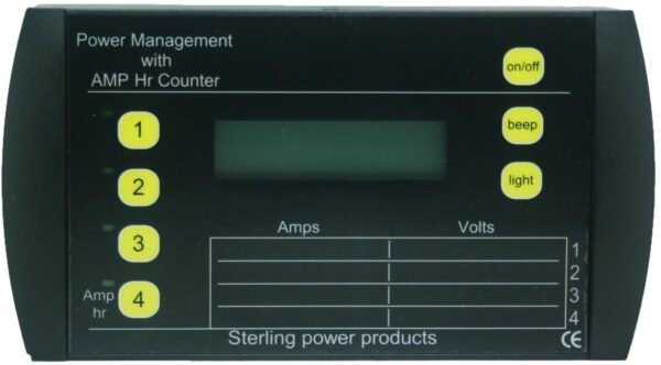 Sterling Power Management Panel PMP1