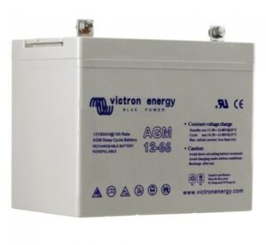 Victron Energy AGM Deep Cycle Battery 12V 66Ah - BAT412600084
