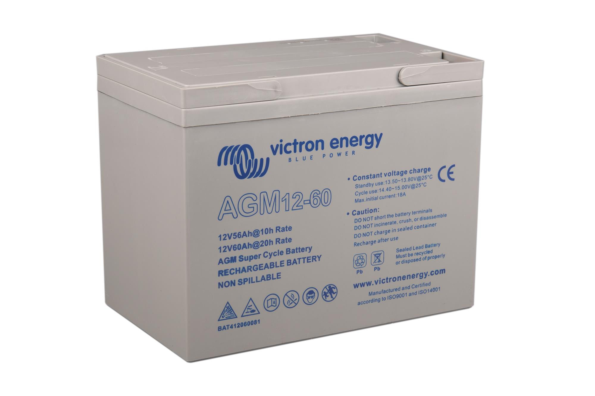 Victron Energy AGM Super Cycle Battery  12V 25 to 125 Ah  FREE UK DELIVERY