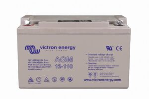 Victron Energy AGM Deep Cycle Battery 12V 110Ah - BAT412101084