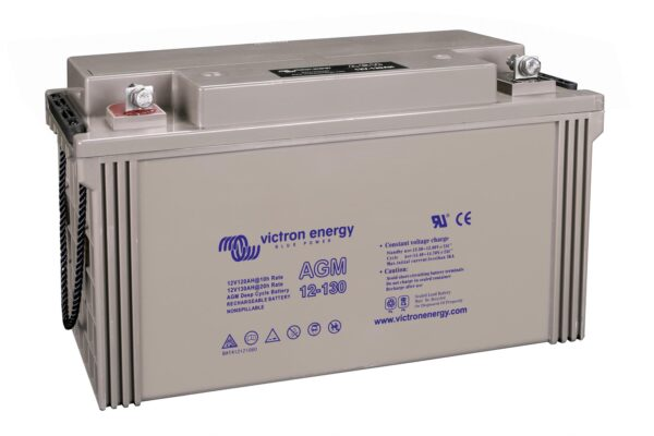 Victron Energy AGM Deep Cycle Battery 12V 130Ah - BAT412121084
