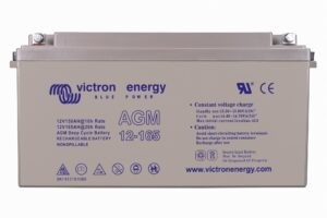 Victron Energy AGM Deep Cycle Battery 12V 165Ah - BAT412151084