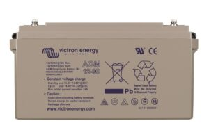 Victron Energy AGM Deep Cycle Battery 12V 90Ah (M6) - BAT412800085