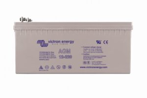 Victron Energy AGM Deep Cycle Battery 12V 220Ah (M8) - BAT412201085