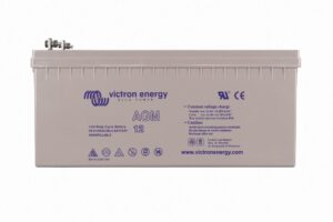 Victron Energy AGM Deep Cycle Battery 12V 240Ah (M8) - BAT412124081
