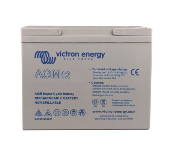 Victron Energy AGM Super Cycle Battery 12V 25Ah (M5) - BAT412025081