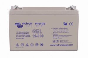 Victron Energy Gel Deep Cycle Battery 12V 110Ah - BAT412101104
