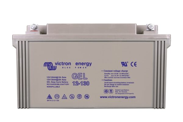 Victron Energy Gel Deep Cycle Battery 12V 130Ah - BAT412121104