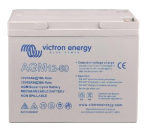 Victron Energy Gel Deep Cycle Battery 12V 60Ah - BAT412550104