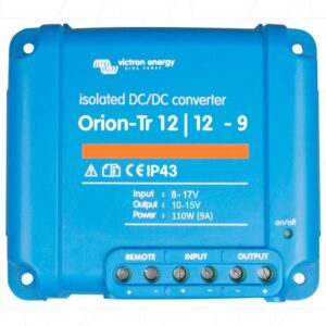 Victron Energy Orion-Tr 12/12-9A (110W) Isolated DC-DC Converter - ORI121210110R