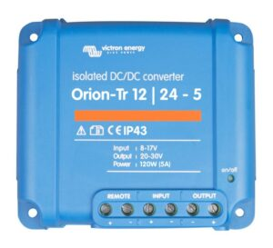 Victron Energy Orion-Tr 12/24-5A (120W) Isolated DC-DC Converter - ORI122410110