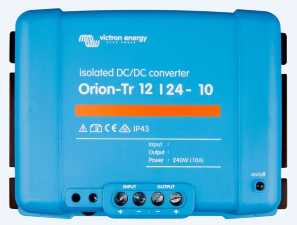 Victron Energy Orion-Tr 12/24-10A (240W) Isolated DC-DC Converter - ORI122424110