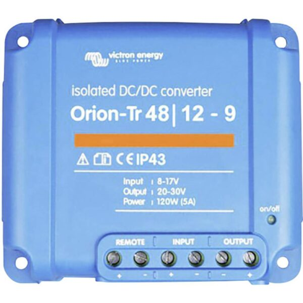 Victron Energy Orion-Tr 48/12-9A (110W) Isolated DC-DC Converter - ORI481210110