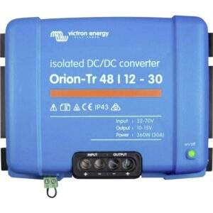 Victron Energy Orion-Tr 48/12-30A (360W) Isolated DC-DC Converter - ORI481240110