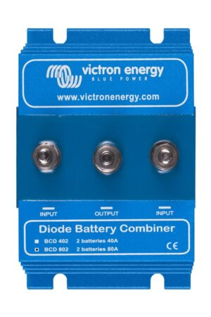 Victron Energy BCD 802 2 batteries 80A Combiner Diode - BCD000802000