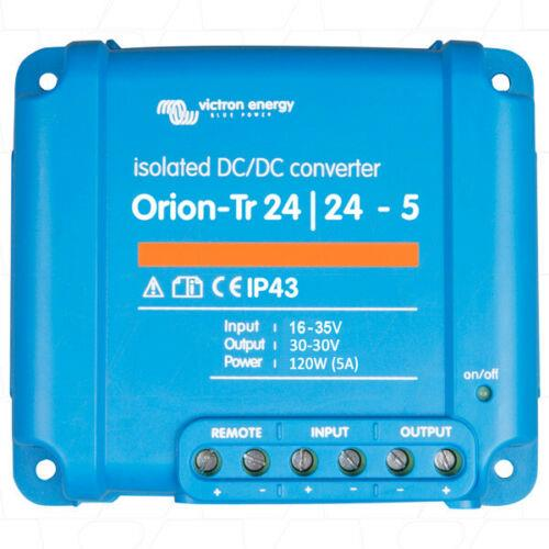 Victron Energy Orion-Tr 24/24-5A (120W) Isolated DC-DC Converter - ORI242410110R