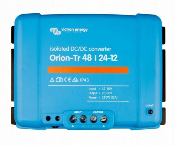 Victron Energy Orion-Tr 48/24-12A (280W) Isolated DC-DC Converter - ORI482428110