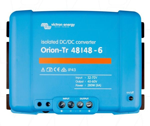 Victron Energy Orion-Tr 48/48-6A (280W) Isolated DC-DC Converter - ORI484828110