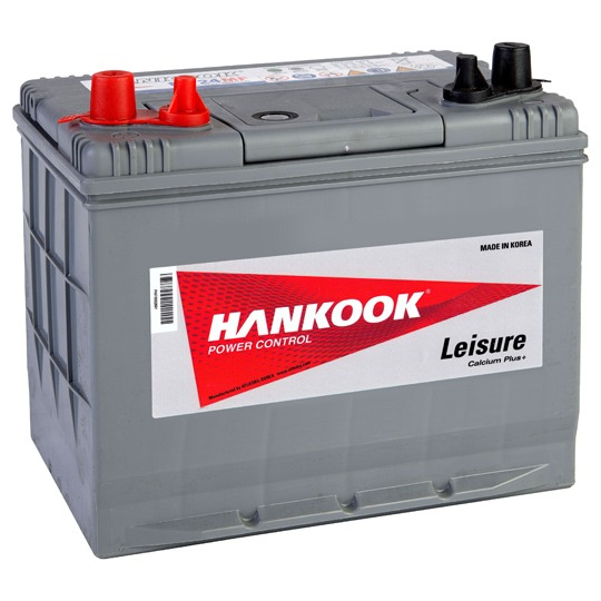 Hankook XV24 Leisure Battery with Victron Energy Smart Solar MPPT & 55W Solar Panel