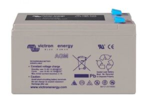 Victron Energy AGM Super Cycle Battery 12V 15Ah (Faston-tab 6.3x0.8mm) - BAT412015080