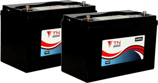 2x TN Power TN84 Lithium Leisure Batteries LiFePO4