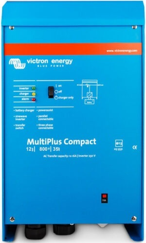 Victron Energy MultiPlus Compact 12/800/35-16 VE.Bus - CMP128010000