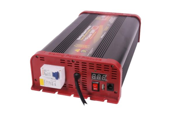 Sterling Power Pure Sine Wave Inverter 12V 600W RCD - SIBR12600