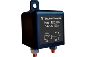 Sterling Power Conventional Ignition Fed Relays 12V 120A - R12120