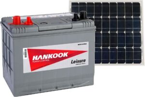 Hankook XV24 Leisure Battery & Victron Energy Solar Panel