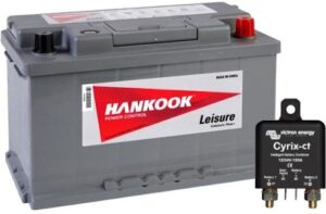 Hankook XV85 Leisure Battery & Cyrix-ct 12/24V & Cyrix-ct 12/24V