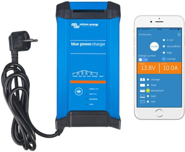 Victron Energy Blue Smart IP22 Charger 24/16(1) 230V CEE 7/7 - BPC241647002